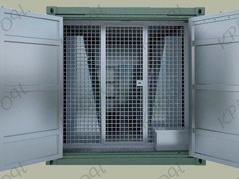 Смотреть фотографию  Кузов-контейнер для хранения стрелкового оружия (ККСО) 34670053 в Ростове-на-Дону