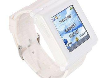 Смотреть фотографию Часы Часофон AK912 белый 34698473 в Москве