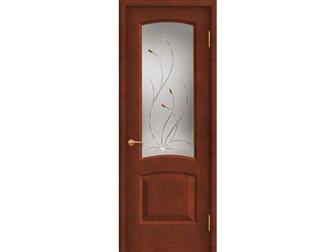 Увидеть foto  Межкомнатная дверь Покрова, Леон К, анегри темный, по, АП-11, 34706441 в Москве