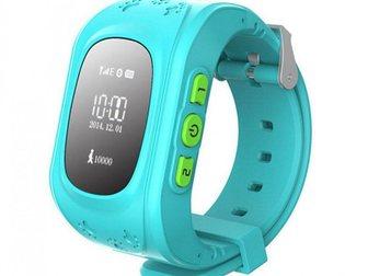 Уникальное фотографию Часы Детские часы маяк KidTracker Q50 (голубые) 34754035 в Москве