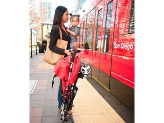 Свежее фото Детские коляски Коляска Bumbleride Flite 34887816 в Москве
