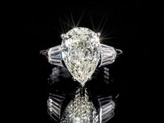 Увидеть изображение  Кольцо с бриллиантами 4,6 карат 34934494 в Москве