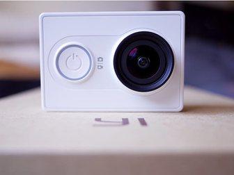 Свежее фотографию  Экшн Камера Xiaomi Yi, Лучший аналог GoPro Hero 35019949 в Москве
