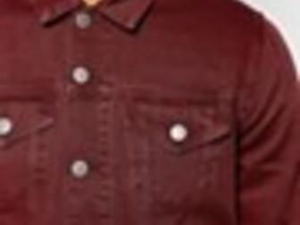 Свежее фотографию Мужская одежда Куплю бордовую/красную/цвет красное вино джинсовку 35136696 в Москве
