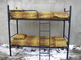 Увидеть изображение  Железные кровати, Армейские железные кровати оптом, Кровати одноярусные 37238616 в Ростове-на-Дону