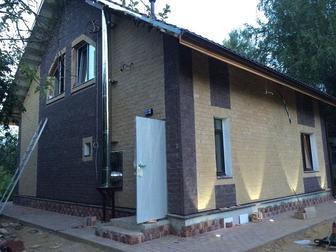 Скачать foto  Тёплый деревянный дом в каменной рубашке! 37303490 в Москве