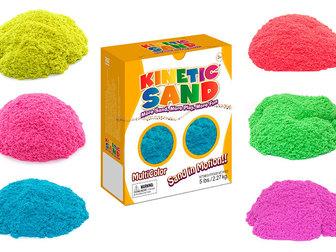 Свежее фото Разное Цветной кинетический песок 2,27 кг Kinetic Sand, 37368422 в Москве