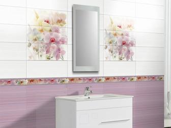 Скачать бесплатно изображение  Лиловая плитка для ванной, 37668308 в Москве