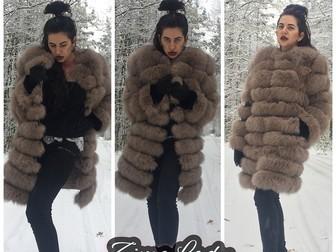 Скачать фото  Шубы и жилетки из песца низка цена 37708383 в Москве