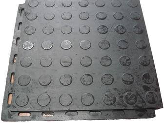 Смотреть фото Отделочные материалы Напольное покрытие для гаража из сборной резиновой плитки с замочками 37798324 в Москве