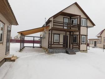 Увидеть foto  Загородный дом у озера Калужское Варшавское шоссе, Магистральный газ в доме, ИЖС, 37815568 в Москве