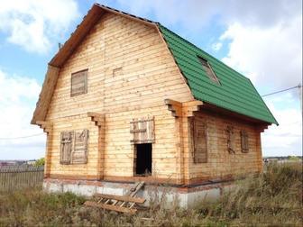 Просмотреть изображение Дома Коттедж 110 м2 на участке 10 сот. 38851110 в Омске