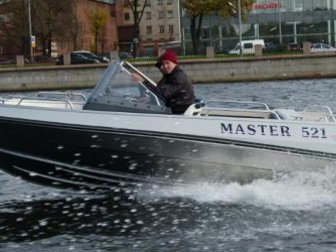 Скачать бесплатно foto  Купить лодку (катер) Master 521 38854912 в Твери