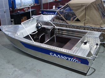 Уникальное фотографию  Купить лодку (катер) Салют-430 Scout 38872566 в Петрозаводске