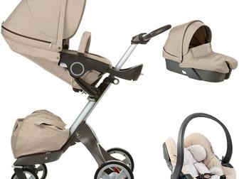 Новое фотографию Детские коляски Stokke Xplory V3 полная коляска + люлька - полная версия 40732735 в Москве