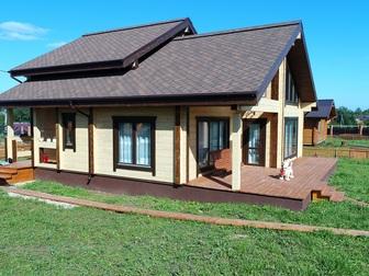Увидеть фото  Дом в Новой Москве в деревне Милюково в 28 км от МКАД по Киевскому шоссе 44279167 в Москве