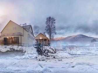 Увидеть foto  Пик Черского, Гостиница и ресторан на Байкале, Отдых на берегу, 48992414 в Иркутске