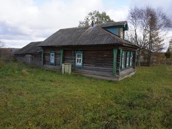 Скачать фото  Бревенчатый дом с баней в жилом селе, 280 км от МКАД 49789603 в Москве