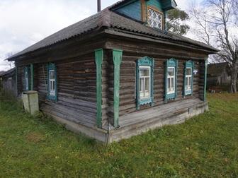 Уникальное фотографию  Бревенчатый дом с баней в жилом селе, 280 км от МКАД 49789603 в Москве