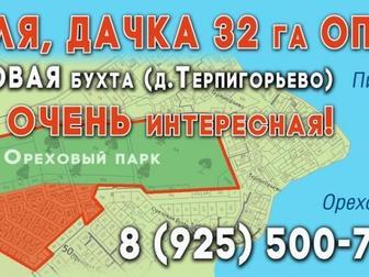 Увидеть фото  Земля дачка на Пироговском водохранилище Терпигорьево 9,5 км от МКАД все коммуникации 51042593 в Москве