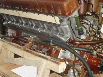 Скачать изображение Автозапчасти Дизельный двигатель А-650 с хранения 66446463 в Новосибирске