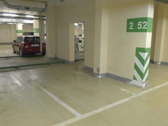 Продается машиноместо в подземном отапливаемо паркинге в жилом квартале Мичуринский,  Круглосуточная охрана,  Машиноместо стоит на кадастровом учете,  Собственность в Москве