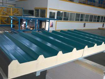 Новое фото  Стеновые и кровельные сэндвич-панели от завода-производителя 69050319 в Рязани