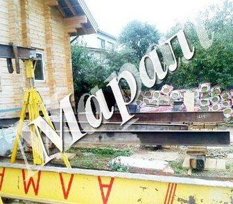 Фотография в Строительство и ремонт Другие строительные услуги Услуги по поднятию дома! Замена и ремонт в Москве 0
