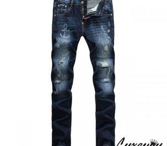 Фото в Одежда и обувь, аксессуары Мужская одежда Стильные джинсы с якорем от Dsquared. В нашем в Москве 4900