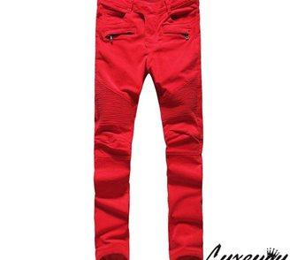 Изображение в Одежда и обувь, аксессуары Мужская одежда Яркие красные джинсы от Pierre Balmain. Хит в Москве 6300