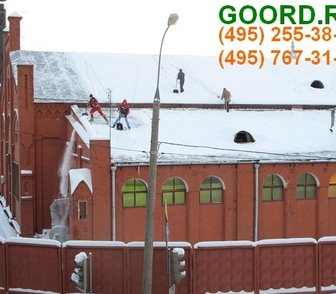 Фотография в Услуги компаний и частных лиц Разные услуги Оказываем услуги по очистке крыш от снега в Москве 25