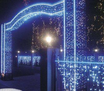 Фото в Услуги компаний и частных лиц Разные услуги Выполним монтаж гирлянд из шаров, новогодних в Москве 250