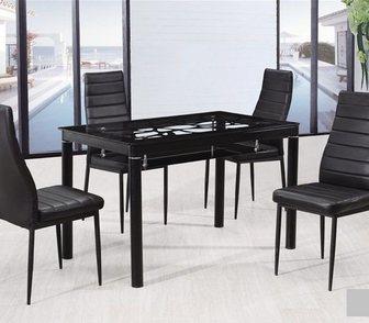Фото в Мебель и интерьер Столы, кресла, стулья 1)Обеденный стол, 12mm закаленное стекло, в Москве 8900