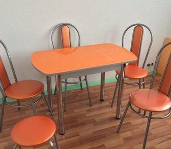 Фото в Мебель и интерьер Кухонная мебель Стол 100*60 (ноги хром) -3. 000руб  Стол в Нижнем Новгороде 2500