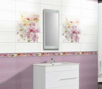 Изображение в   Предлагаю нежно-лиловую плитку для ванной в Москве 100