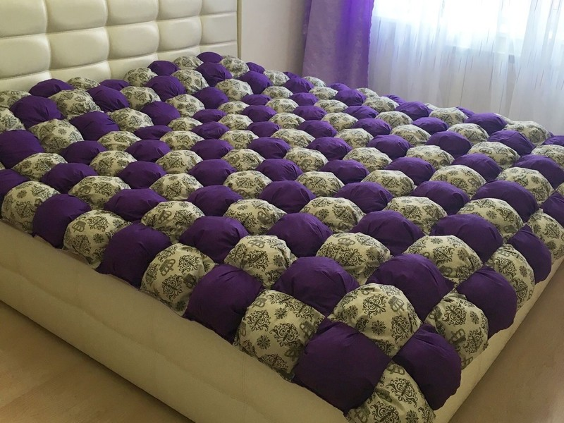Одеяло бонбон своими руками пошагово мастер класс фото самые красивые 11