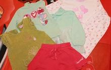 Одежда б/у в хорошем состоянии для девочки, Размер: 74-80 см (7-12 мес)