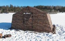 Полевая палатка 10М, облегченная армейская на алюминиевом каркасе, 510х400х230 см