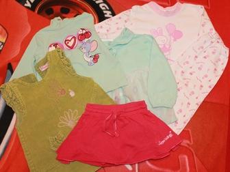 Скачать фотографию Детская одежда Одежда б/у в хорошем состоянии для девочки, Размер: 74-80 см (7-12 мес) 34257701 в Мурманске