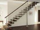 Фотография в Строительство и ремонт Двери, окна, балконы Прочный и устойчивый каркас лестницы позволяет в Муроме 88600