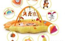 Замечательный развивающий коврик «Мишкин дом»