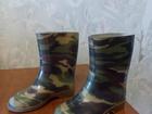 Скачать бесплатно фотографию Детская обувь Продам сапоги резиновые детские неутепленные, цвета хаки 67699125 в Находке