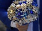 Увидеть foto Свадебные платья Сногсшибательный свадебный брошь-букет с преобладанием цвета Электро! 33259267 в Невинномысске