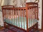 Фотография в Для детей Товары для новорожденных Продам детскую кроватку + матрасик в Нижнеудинске 2000