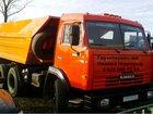 Фото в Авто Транспорт, грузоперевозки Доставим: песок карьерный и речной, щебень в Нижнем Новгороде 0