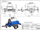 Просмотреть изображение Прицепы для легковых авто Цистерна пищевая на шасси легкового прицепа объемом 300 литров 69462102 в Нижнем Новгороде