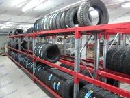 Стеллажи металлические для шин, колес, дисков Производим стеллажи металлические