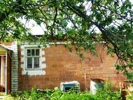 Сад-дача в СНТ Окское на р, Ока (Богородский район) Кирпичный дом с мансардой, п