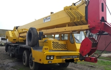 Автокран колесный кран Tadano-650e грузоподъемность 65 тонн