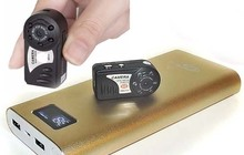 Мини камера с внешним аккумулятором